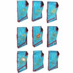 Memphis Misraim Officer Collars Machine Embroidery Set - Set of 9 Collar