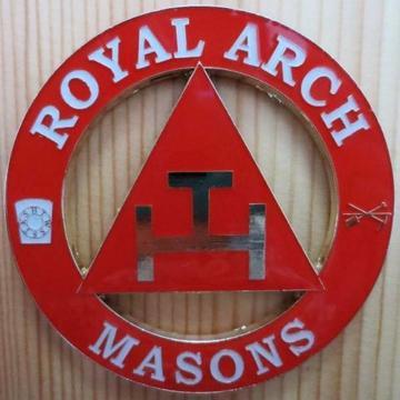 ROYAL ARCH MASONS Car Emblem